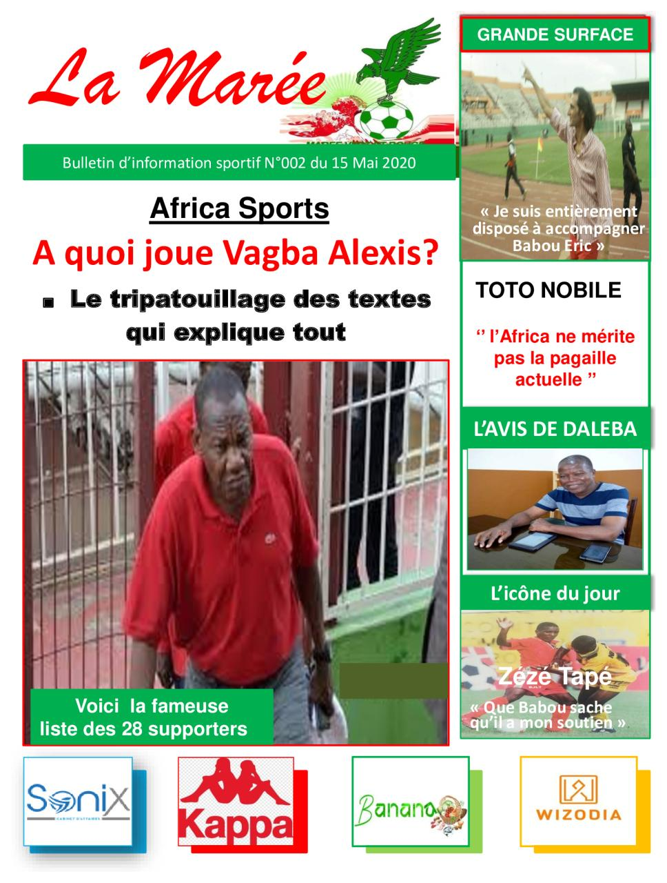 Le journal - LA MAREE - N°002 du 15 Mai 2020.pdf - page 1/10